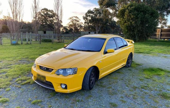 2005 Ford Falcon BA F6 Typhoon yellow paint images 2021 (2).jpg