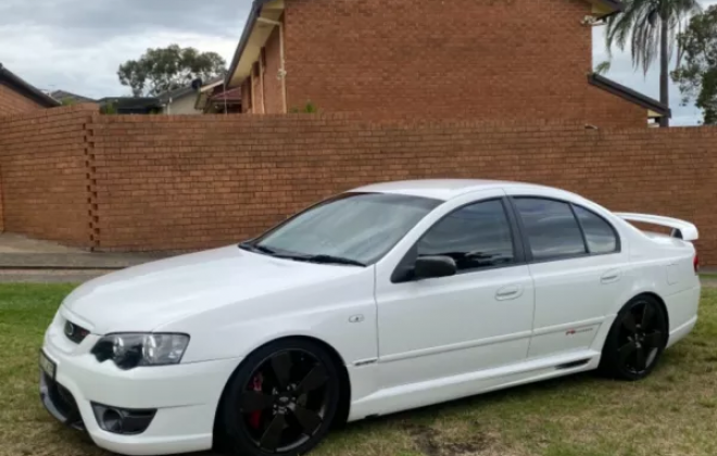 2007 Ford BFII Falcon F6 Typhoon R Spec in winter white images (5).png