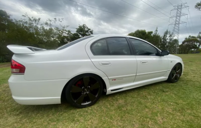 2007 Ford BFII Falcon F6 Typhoon R Spec in winter white images (6).png