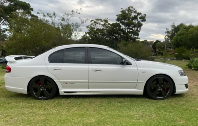 2007 Ford BFII Falcon F6 Typhoon R Spec in winter white images (8).png