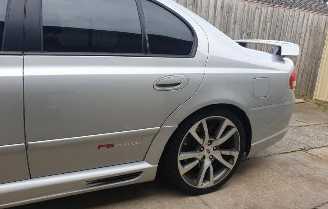 2007 Ford Falcon F6 Typhoon R spec silver rare exterior images (9).jpg