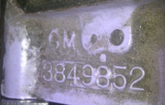 283 engine block casting number 3849852 Studebaker 283.png