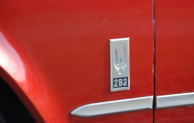 283ci engine fender badge 1966 Studebaker.png