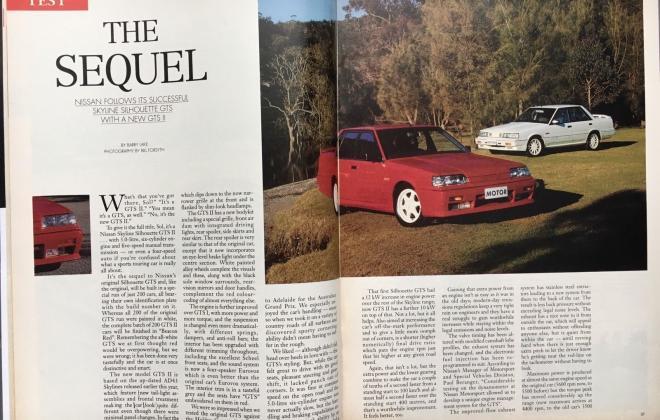3 Modern Motor Magazine Issue 16, 1989, Nissan SVD Silhouette GTS2 article (4).jpg