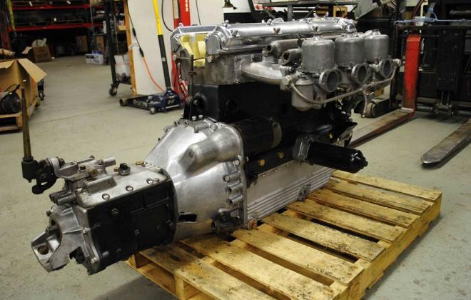 3.8 engine  with Moss gearbox Jaguar XK-E E-type.jpg