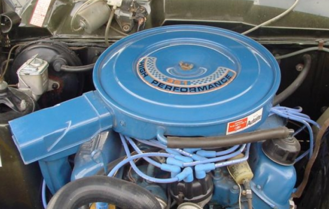 351 XW GT Windsor V8 fitted with automatic transmission.png