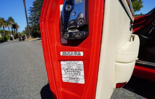 4. Jaguar XJR-S V-12 VIN number on door (2).jpg