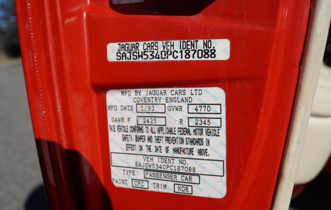 4. Jaguar XJR-S V-12 VIN number on door (3).jpg