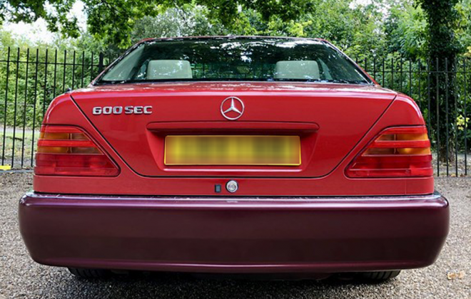600SEC badge 1993 V12 Mercedes C140.png