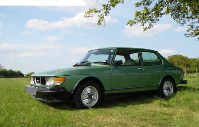Acacia Metallic Green Saab 99 Turbo 1.JPG