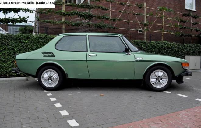 Acacia Metallic Green Saab 99 Turbo.jpg