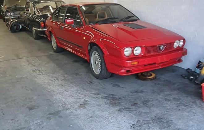 Alfa Romeo Alfetta GTV6 Grand Prix Red Australia unrestored (1).jpg