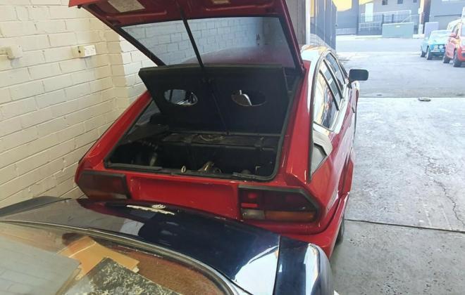 Alfa Romeo Alfetta GTV6 Grand Prix Red Australia unrestored (7).jpg