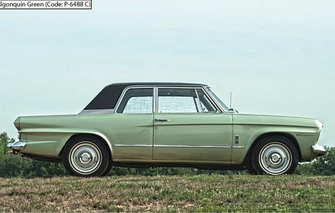 Algonquin Green 1966 Studebaker Daytona Sports Sedan code P-6448 C (1).png