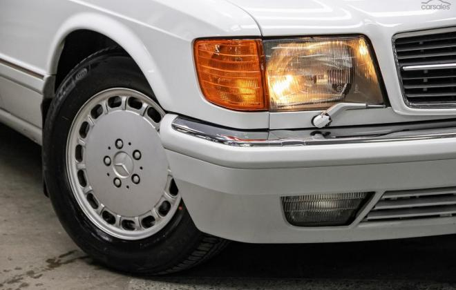 Arctic White 1989 Mercedes 560SEC two tone Australian delivered images (11).jpg