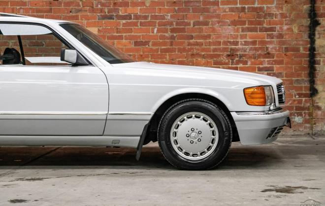 Arctic White 1989 Mercedes 560SEC two tone Australian delivered images (14).jpg