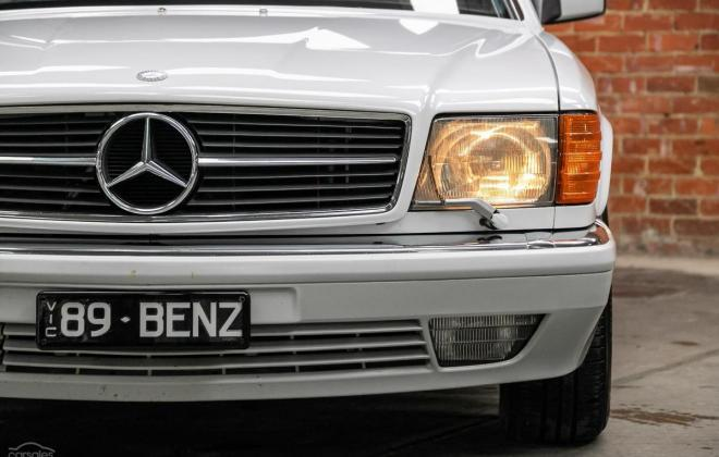 Arctic White 1989 Mercedes 560SEC two tone Australian delivered images (2).jpg