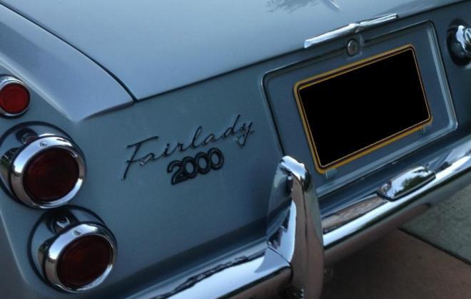 Australian - Japanese Datsun 2000 fairlady back.jpg