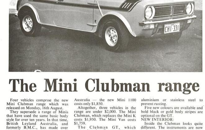 Australian Automotive Engineering and Equipment magazine Clubman GT AUstralia review (1).jpg