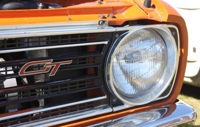 Australian Clubman GT front GT badge.png