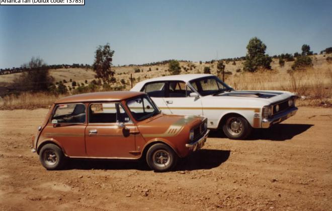 Australian Leyland Mini Clubman GT Arianca Tan paint (2).png