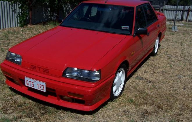 Australian Nissan Skyline Silhouette GTS2 sedan red 1989 (11).jpg