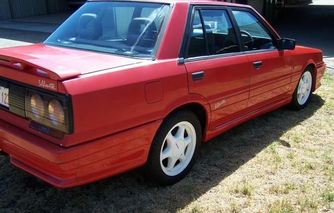 Australian Nissan Skyline Silhouette GTS2 sedan red 1989 (9).jpg