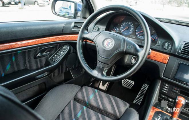 BMW E39 Alpina B8 V8 interior images (10).jpg
