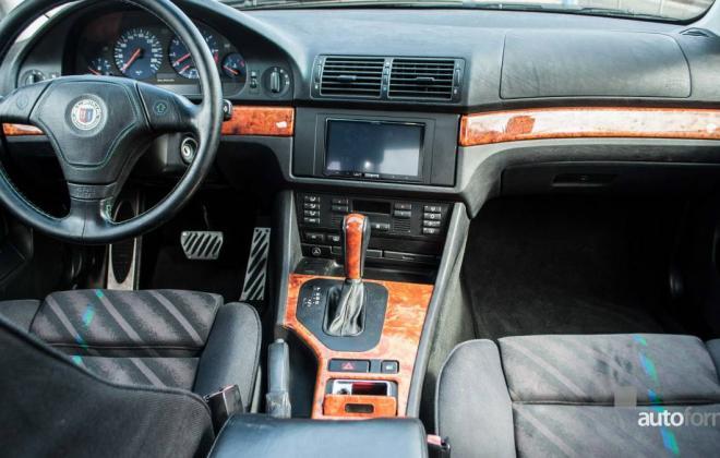 BMW E39 Alpina B8 V8 interior images (3).jpg