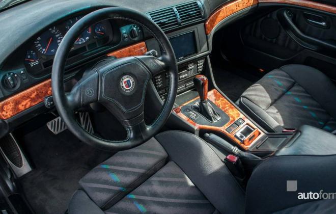 BMW E39 Alpina B8 V8 interior images (4).jpg
