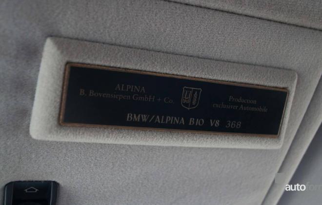 BMW E39 Alpina B8 V8 interior images (7).jpg