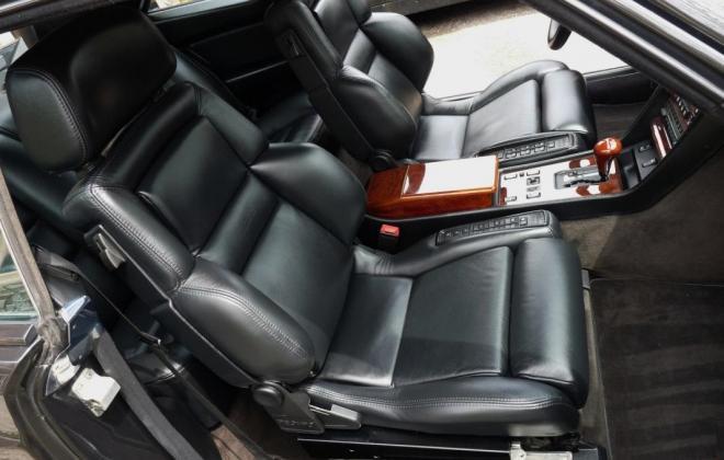 Black 560 SEC AMG 6.0 widebody interior image classic register (7).jpg