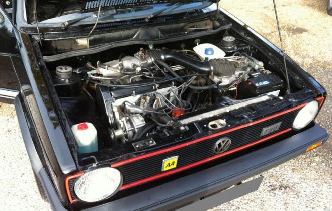 Black Golf GTI MK1 1.8 engine bay.jpg