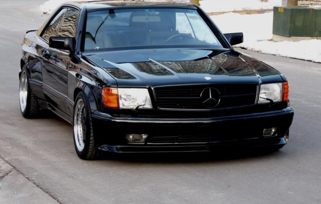 Black Mercedes 560SEC AMG 6.0 wide body classic register (5).jpg