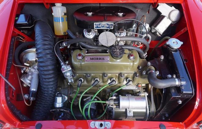 Black over Tartan red 1965 Morris Cooper S MK1 British built image (21).jpg