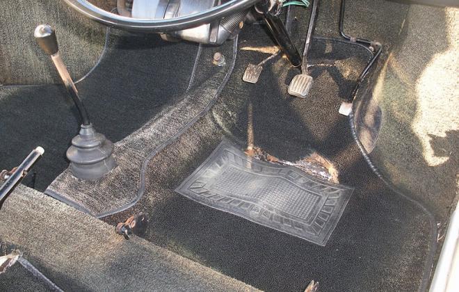 Black westminster carpet 1 MK2 Morris cooper s australia.jpg