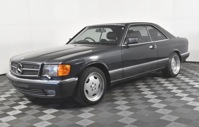 Blauschwarz Blue Black Mercedes 560SEC 1991 coupe Australia images RHD (1).jpg