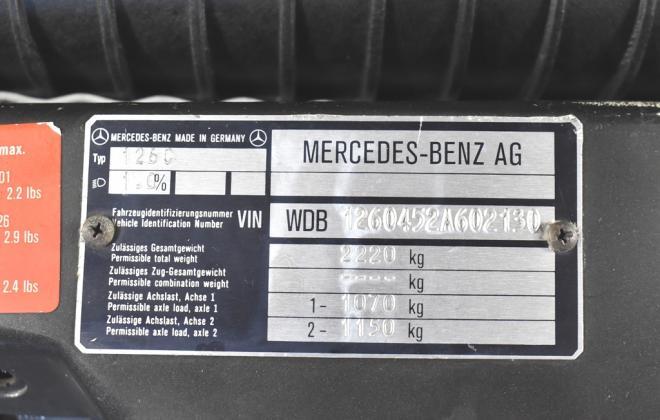 Blauschwarz Blue Black Mercedes 560SEC 1991 coupe Australia images RHD (13).jpg
