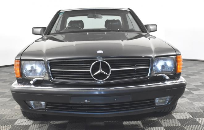 Blauschwarz Blue Black Mercedes 560SEC 1991 coupe Australia images RHD (2).jpg