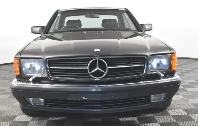 Blauschwarz Blue Black Mercedes 560SEC 1991 coupe Australia images RHD (3).jpg