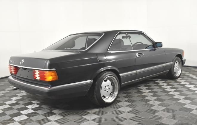 Blauschwarz Blue Black Mercedes 560SEC 1991 coupe Australia images RHD (5).jpg