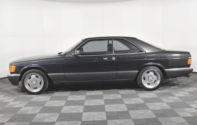 Blauschwarz Blue Black Mercedes 560SEC 1991 coupe Australia images RHD (7).jpg