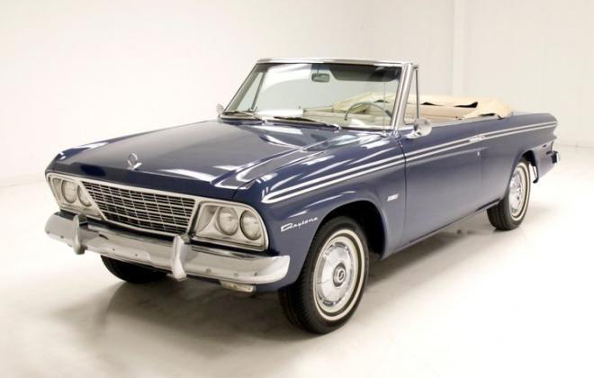 Blue 1964 Studebaker Daytona with 259 V8 2021 images (1).jpg