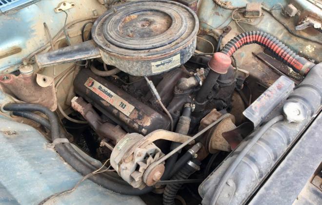 Blue 1966 Studebaker Daytona coupe sports sedan V8 (2).jpg