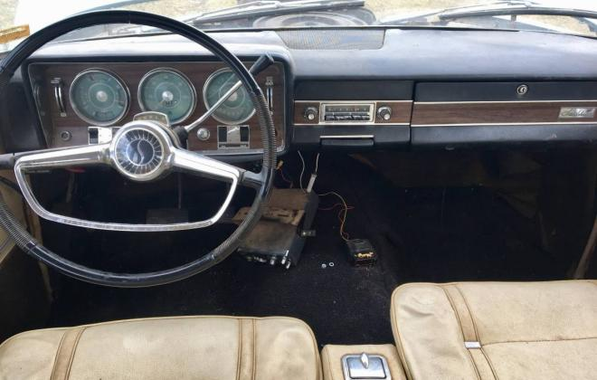 Blue 1966 Studebaker Daytona coupe sports sedan V8 (3).jpg