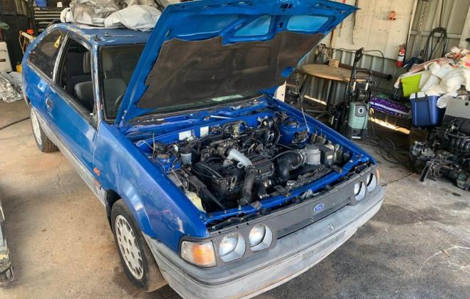 Blue ford Laser KE TX3 1987 unrestored Sydney NSW pictures 2021 (1).jpg