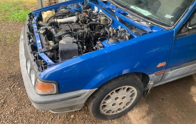 Blue ford Laser KE TX3 1987 unrestored Sydney NSW pictures 2021 (2).jpg