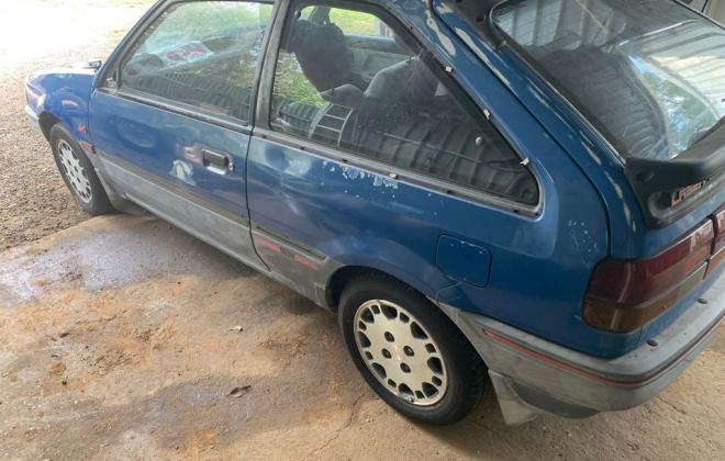 Blue ford Laser KE TX3 1987 unrestored Sydney NSW pictures 2021 (3).jpg