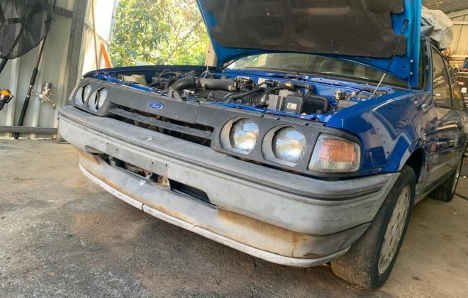 Blue ford Laser KE TX3 1987 unrestored Sydney NSW pictures 2021 (8).jpg