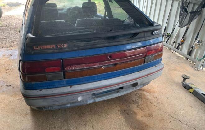 Blue ford Laser KE TX3 1987 unrestored Sydney NSW pictures 2021 (9).jpg